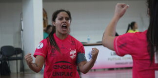 Futsal feminino de Lages aplica nova goleada na Libertadores da América cb2ea0dd214ce